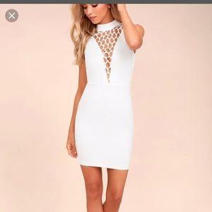 Brand New Lulus white Dress